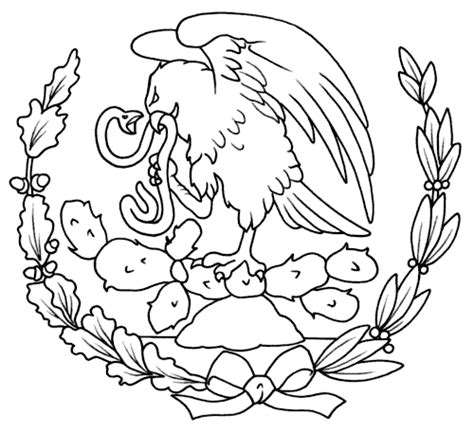 simbolos patrios colouring pages s 237 mbolos patrios m 233 xico para colorear material de