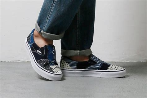 Sepatu Vans Slip Denim 03 fdmtl x vans slip on era