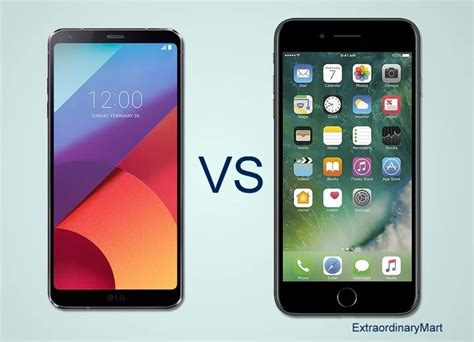 iphone b w phone specs and reviews comparison b w lg g6 vs iphone 7 plus with conclusion