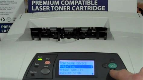 reset hp deskjet d4200 how to reset the maintenence kit message on hp 4200 youtube