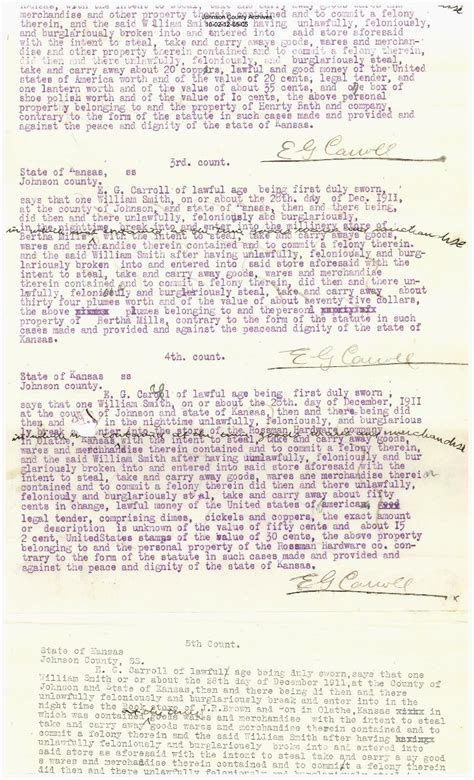 Statements On The Of Smith by Atchison Topeka Santa Fe Railroad