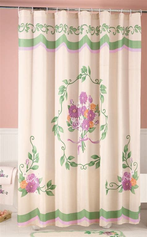victorian shower curtain classic and lovable victorian shower curtains homesfeed