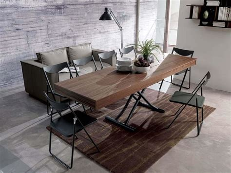Coffee Table Converts To Dining Table Newood By Ozeta Quickly Converts From Coffee Table To Dining Table