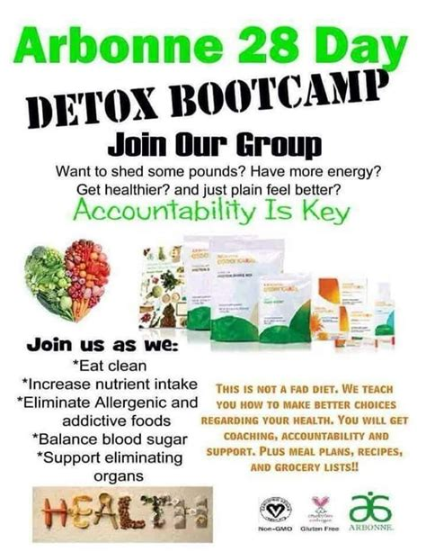 Arbonne Detox by Arbonne 28 Day Detox Bootc Join Our