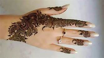 collection of indian henna designs for girls