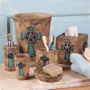 turquoise cross bath collection