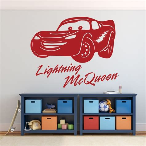 Disney Cars Wall Decals disney pixar cars lightning mcqueen personalized wall