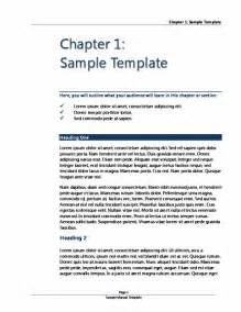 Word Template For Ebook by Book Template Microsoft Word Templates
