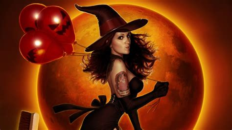 film fantasy halloween witch full hd wallpaper and background image 1920x1080
