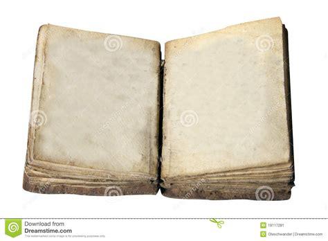 libro espacios en blanco esconda el libro abierto de la vendimia aislado en blanco imagen de archivo imagen 19117281