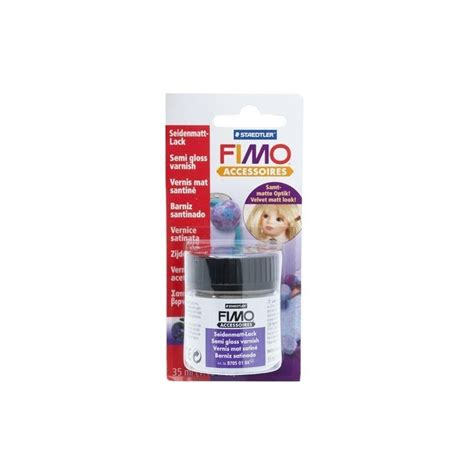 Fimo Semi Gloss Varnish fimo accessoires semi gloss varnish 35ml vernice di