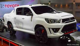 Toyota Sports Toyota Hilux Revo Sport Concept Unveiled In Bangkok