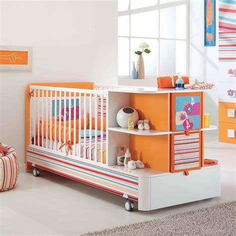 Italian Baby Crib Italian Baby Furniture Manufacturer Pali My Living Ltd Modern Orange White Convertible Cot Samba
