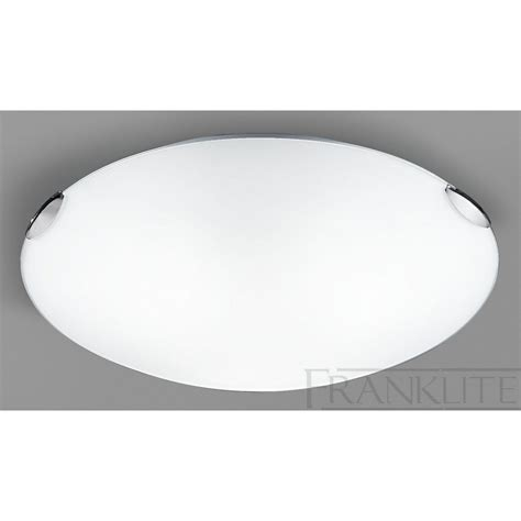 cf5662el flush ceiling light glass chrome