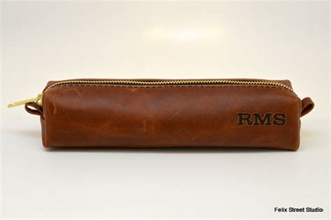 Handmade Groomsmen Gifts - personalized groomsman gifts leather handmade dopp kit