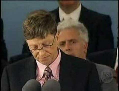 Mba Bill Gates Speech by Bill Gates Speech At Harvard Part 2