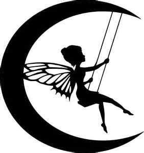 Swing Und Cut by Die Cut Silhouette Moon On Swing Topper X 6 For