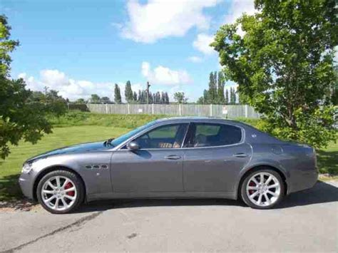 4 Door Maserati by Maserati 2005 Quattroporte V8 4dr Duoselect 4 Door Saloon