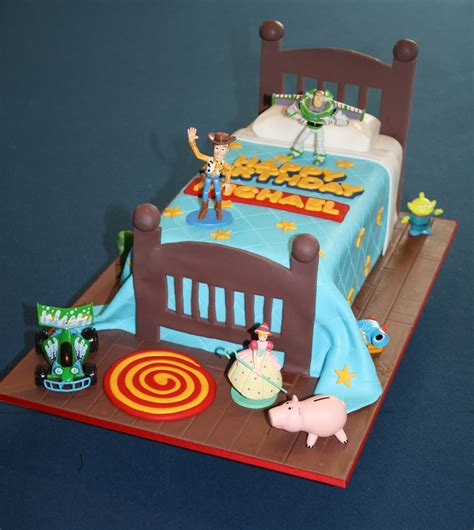 bed story sandy s cakes michael s toy story bed cake for his 4th birthday