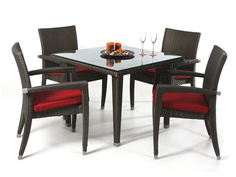 gorgeous dining table and chair set on dining room table