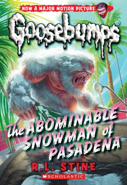 Goosebumps Remake the abominable snowman of pasadena classic goosebumps series 27 by r l stine paperback