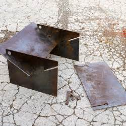 Steel Firepits Best 25 Metal Pit Ideas That You Will Like On Rustic Firewood Racks Steel