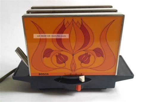Toaster Retro Design by Bosch Toaster Retro Vintage 70er
