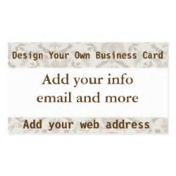 design my own business cards add your own image business cards templates zazzle