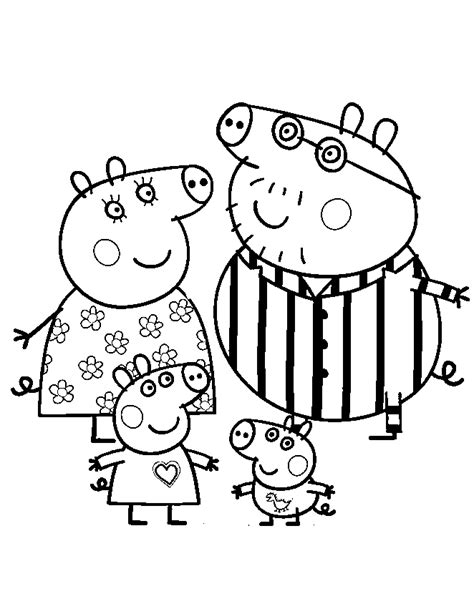 peppa pig printable coloring pages coloring home peppa pig printable coloring pages coloring home