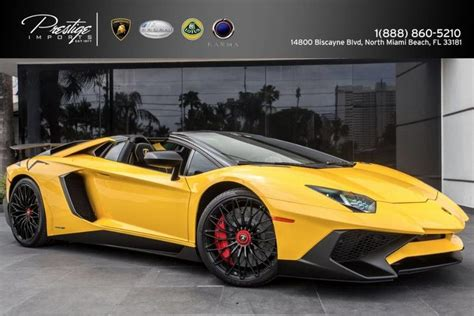 lamborghini aventador sv roadster vs coupe 2017 lamborghini aventador superveloce roadster north miami beach fl 18184762