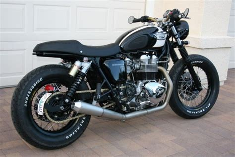 Triumph T100 Custom by Nicks Triumph Bonneville T100 Custom Cafe Racer Things