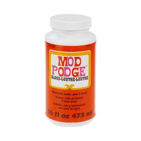 Decoupage Pva Glue - mod podge gloss all sizes decoupage adhesive glue sealer