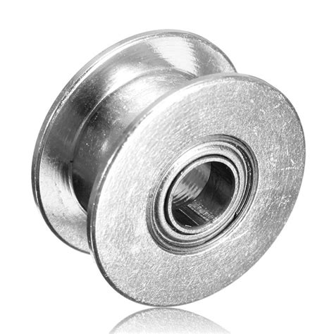 Idle Pulley Gt2 Without Teeth 5mm timing gear pulley without tooth idle pulley synchronous 5mm for gt2 belt width 6mm power