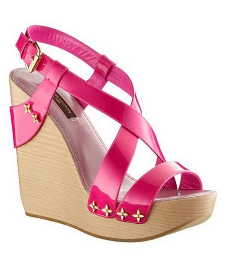 High Heels T11 Black Sepatu High Heels Wedges Wanita wedge heel