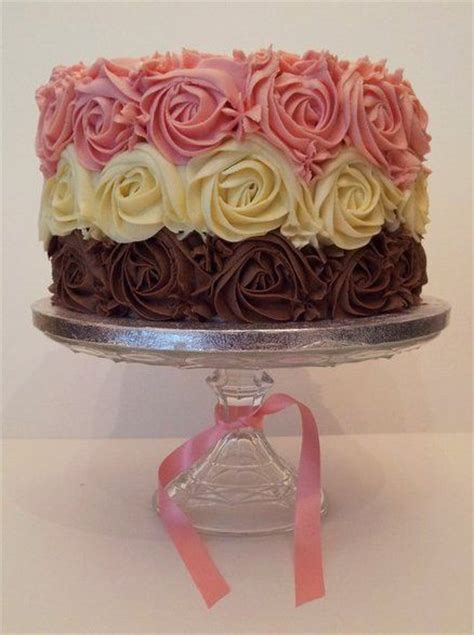 25  best ideas about Rose swirl cake on Pinterest   Swirl