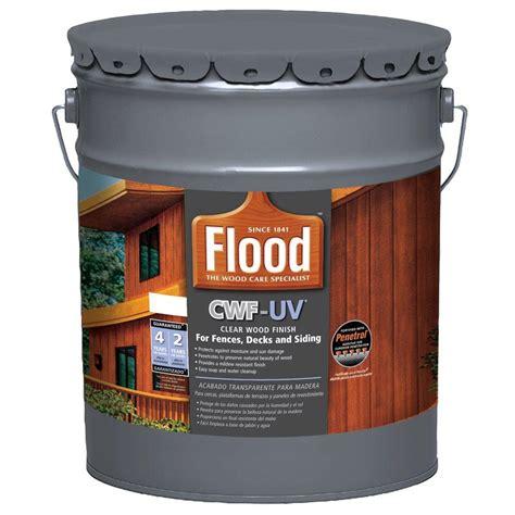 flood gal clear uv based exterior wood finish  fences