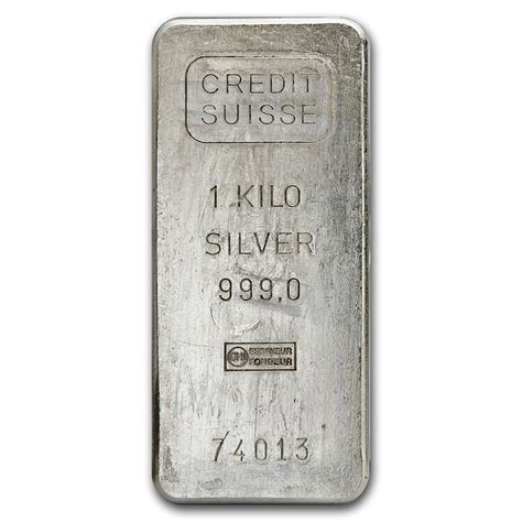 1 Oz Credit Suisse Silver Bars - 1 kilo silver bar credit suisse kilo 32 15 oz