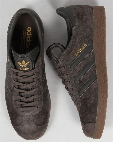 Sale Sepatu Casual Adidas Gazelle Gum Made In adidas gazelle trainers utility grey gum originals shoes mens sneakers