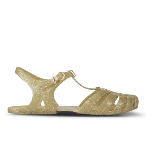 gold jelly sandals s aranha hits 11 jelly sandals gold