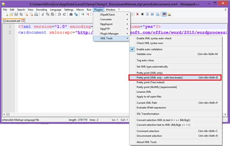 microsoft word xml format document file how to manually fix content error in microsoft word c