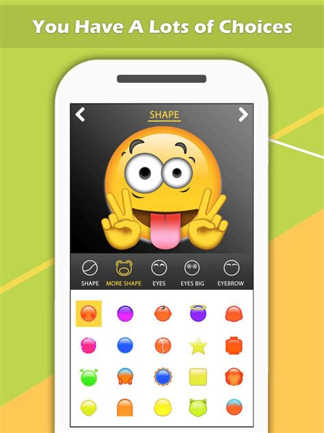emoji design maker app shopper emoji maker create personal chat emojis