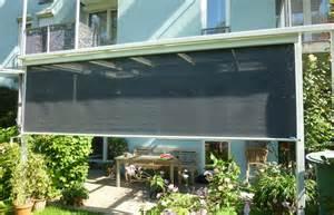 senkrecht sonnensegel für balkon und terrasse senkrechtmarkise graz praun partner