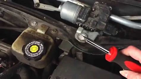 saturn ion wiper transmission how to change a wiper transmission in a 2003 saturn ion