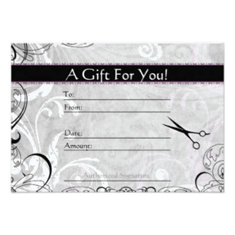 printable gift certificates for hair salon 323 hair salon invitations hair salon announcements