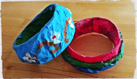 Paper Mache Crafts For Preschoolers - how to make paper mache for persil
