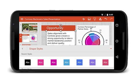 microsoft powerpoint for android why microsoft s push into s android is news for users ndtv gadgets360