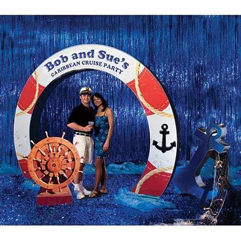 create  stunning entrance  photo op   nautical