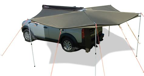 vehicle awning rhino rack foxwing 2 5 vehicle awning adventure ready