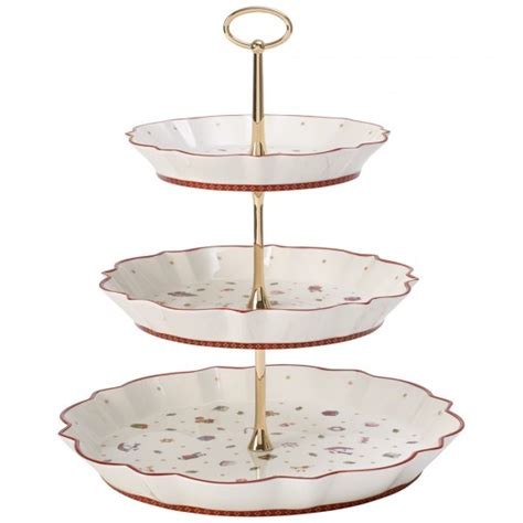 etagere eckig s delight tray stand villeroy boch