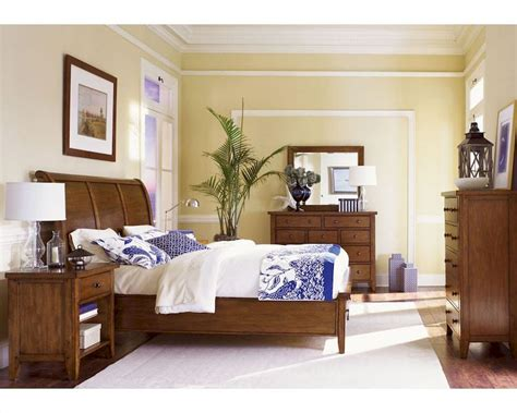 aspen home bedroom furniture aspen bedroom furniture sleigh bed napa as74 400 picture